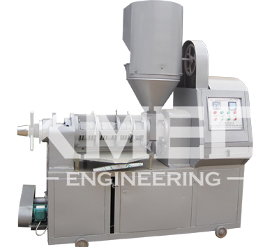 YZS-120A integrated screw oil press expeller machine with feeder