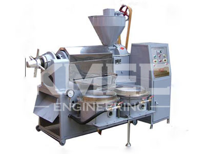 YZS-120A integrated oil press