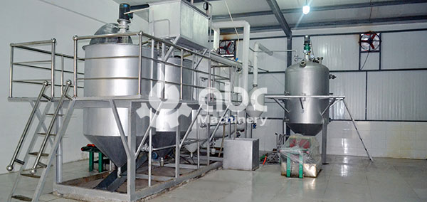 refining part soya oil making fully automatic plant