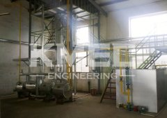 5TPD deacideification and deodorization line in Indonesia