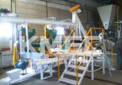 30TPD soybean oil extruding and pressing line in Argentina